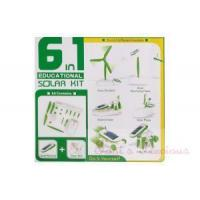 6 in 1 Educational Solar Power Manual Assemble Kits Toy Manufactures
