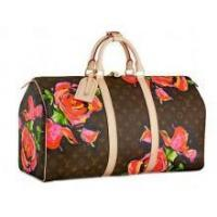 Buy cheap Louis Vuitton Monogran Rose Keepall 50 Luggage M48605 from wholesalers