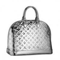 Buy cheap Louis Vuitton Monogram Vernis ALMA LV Bag in Silver from wholesalers