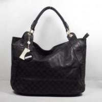Buy cheap Louis Vuitton New 2009 Damier Leather Handbag Black from wholesalers