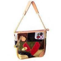 Handbags Patent Patchwork Chain Tote Manufactures