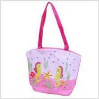 Buy cheap Embroidered Straw Beach Tote (Pink) from wholesalers