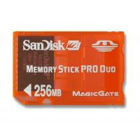 China Sandisk 256MB Gaming Memory Stick Pro DUO - In Stock! on sale