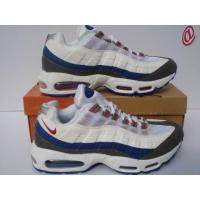 China Nike Air Max 95 White Grey Navy Blue Red on sale