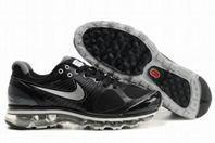 Nike Air Max 2010 Flywire Mesh (black /silver) Mens Shoes Manufactures