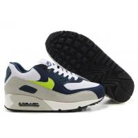Nike Air Max 90 Whtie Navy Lime Grey Manufactures