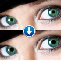 Green eyes Perspective contact lenses Manufactures