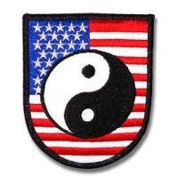American Yin Yang Patch Manufactures