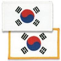 Korean Flag Patch Manufactures