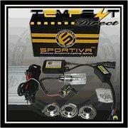 China H6/ H4 High Low Flex HID Xenon 35W Slim Motorcycle Conversion Kit By Sportiva Motors on sale