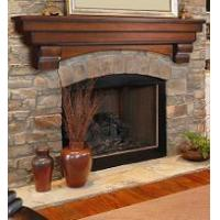 Auburn Fireplace Mantel Shelf from Pearl Mantels