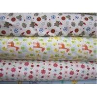 2 side Brushed Cotton Printed Flannel Fabric, good quality, Manufactures