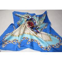 China Big Silk Scarf Hangzhou Baoshang fashion chain printing 100% silk twill scarf on sale
