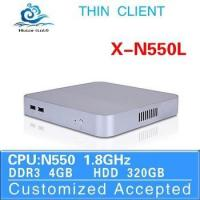 Buy cheap Highest Cost Effective Cheap Mini PC N550 Home Computer Ultra Thin Client Terminal Desktop Computer from wholesalers