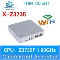Buy cheap Industry pc fanless mini pc win8 mini cpu z3735f 2g ram 32g ssd ssd with wifi from wholesalers