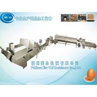 Quail egg cooking and shelling production line Manufactures