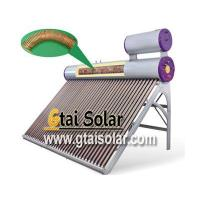 Buy cheap Solar Water Heating Pre-heated solar water heater / CCG from wholesalers