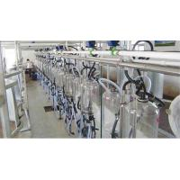China Cow milking equipment Central-positioned Mechanism Measuring Bottle Milking System on sale