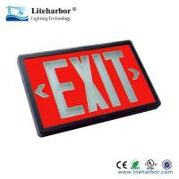 China emergency exit light Lighted exit signs tritium self-illuminating no power on sale