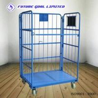 Folding Roll Container / Logistics Cargo Trolley / Warehouse Trolley Manufactures
