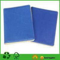 Blue PU Notebook With Custom Size And Design