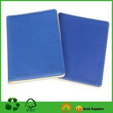 Quality Blue PU Notebook With Custom Size And Design for sale