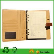 Quality Custom PU Notebook Cover for sale