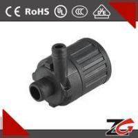 China 12v 0.5-4w 0.5-3L/min mini dc water pump for Household appliances ZGP2501-2 on sale