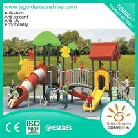 Buy cheap Outdoor playground Outdoor combined slide set forest 13064 from wholesalers