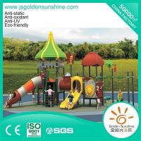 Buy cheap Outdoor playground Outdoor combined slide set forest 13062 from wholesalers