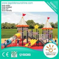 Buy cheap Outdoor playground Outdoor combined slide set castle 13086 from wholesalers