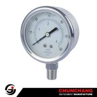 Two Connection Screwed ALL SS Pressure Gauge Manufactures