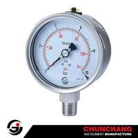 Laser Welding All SS Pressure Gauge Manufactures