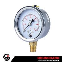 Crimped SS Case Pressure Gauge Manufactures