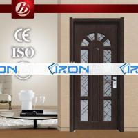 Buy cheap Wood Door Iron (1217) turkey armored door pictures of modern wood doors iron gates models for homes from wholesalers