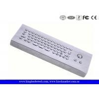 Quality IP65 Rated Industrial Computer Desktop Mini Metal Keyboard With Trackball for sale