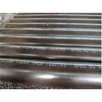 Circular Welded Steel Oil Casing Pipe / Gas Transportation Pipeline ASTM A53 Manufactures