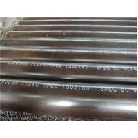 Quality Circular Welded Steel Oil Casing Pipe / Gas Transportation Pipeline ASTM A53 for sale