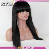China >New Design Silk Top Wig Cheap Price High Quality Virgin Brazilian Hair Silk Base Full Lace Wig on sale