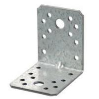 2.0mm Reinforced Galvanized right angle metal brackets Manufactures