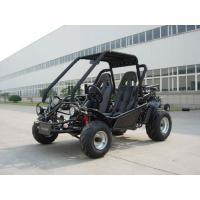 China Blue 150CC Adult Racing Go Kart Buggy KD 150FS , 2 Seat And Chain Drive on sale