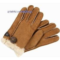 China FL-G2211-5fur leather gloves on sale