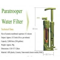 Camping water filter for drinking water Manufactures