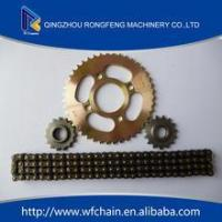 Motorcycles 420 428 428H chain and sprocket Manufactures