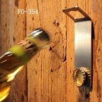 China Mounted bottle opener with magnet wholesale