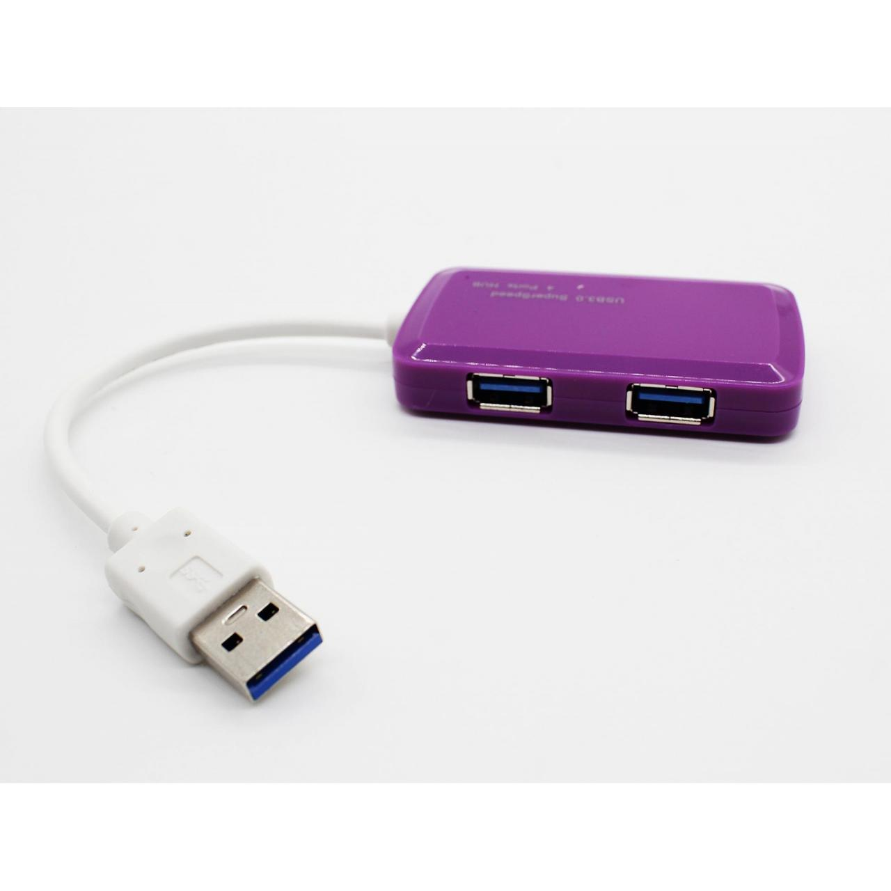 China USB HUB Slim Protable 4 Port USB3.0 HUB on sale