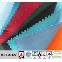 Buy cheap 360GSM CVC cotton polyester flame retardant anti-static fabric from wholesalers