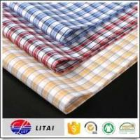 Ready goods, 50% bamboo 50% polyester yarn dyed shirting fabric Manufactures