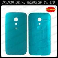 China New Product Mobile Phone Parts Bright Blue For Motorola Moto G XT1032 Back Cover on sale