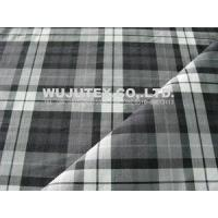 Buy cheap Competitive Price Stretch Plaid Cotton Nylon Fabric , Plain Weave Cloth Material from wholesalers
